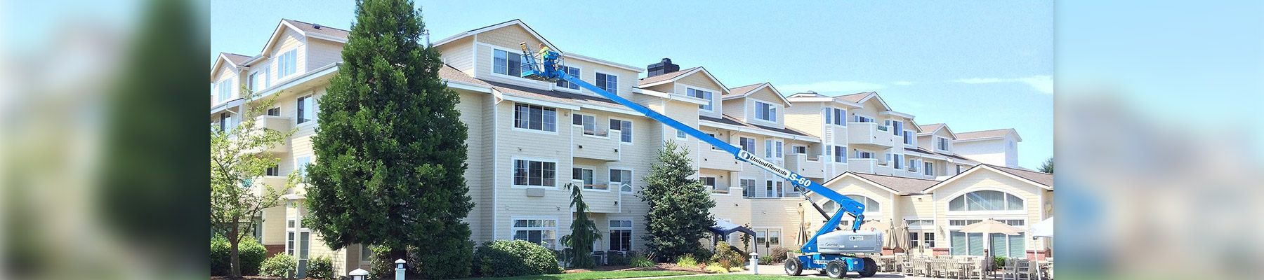 Exterior Painting of Apartment Complex